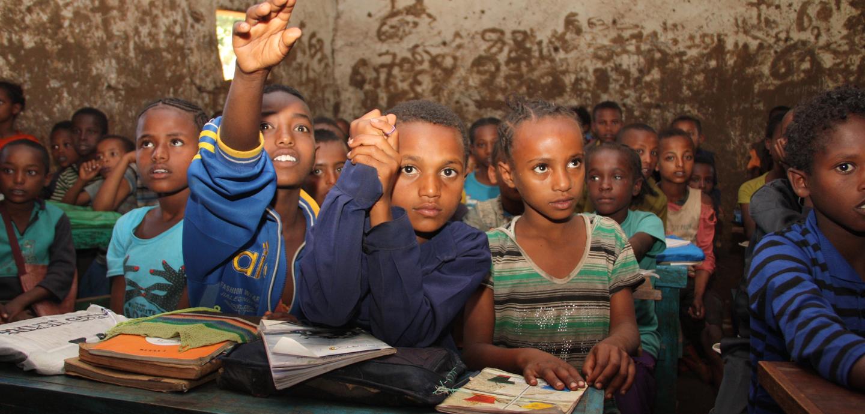 Engagierte Schüler trifft man in nahezu allen Klassenräumen. Foto: Kläne