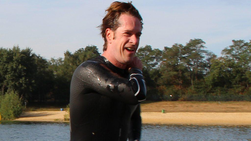 Aktiv für den guten Zweck: Triathlet Dominic Sander aus Lohne. Foto: Schwarberg